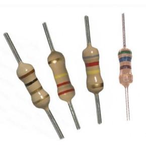 10E 1/4W Resistors - 50 Pcs