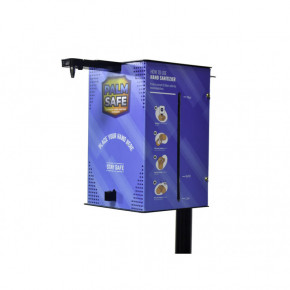 PALM SAFE-PSV200 Automatic Hand Sanitizer Dispenser  with Battery
