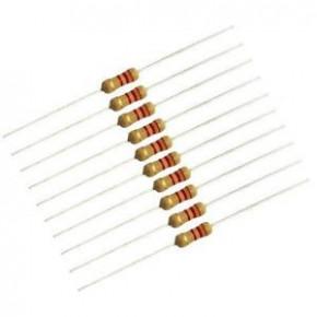 2.2K 1/4W Resistors - 50 Pcs