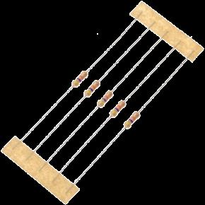47K 1/4W Resistors - 50 Pcs